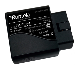 Photo Ruptela PlugTrack